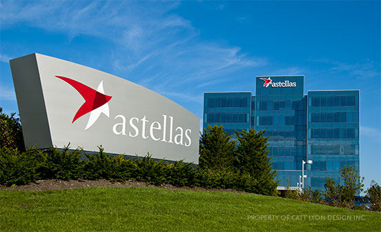 Catt Lyon Design + Wayfinding - Astellas
