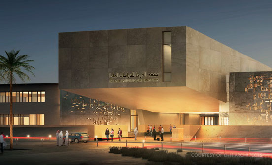 Catt Lyon Design Wayfinding Doha Institute For